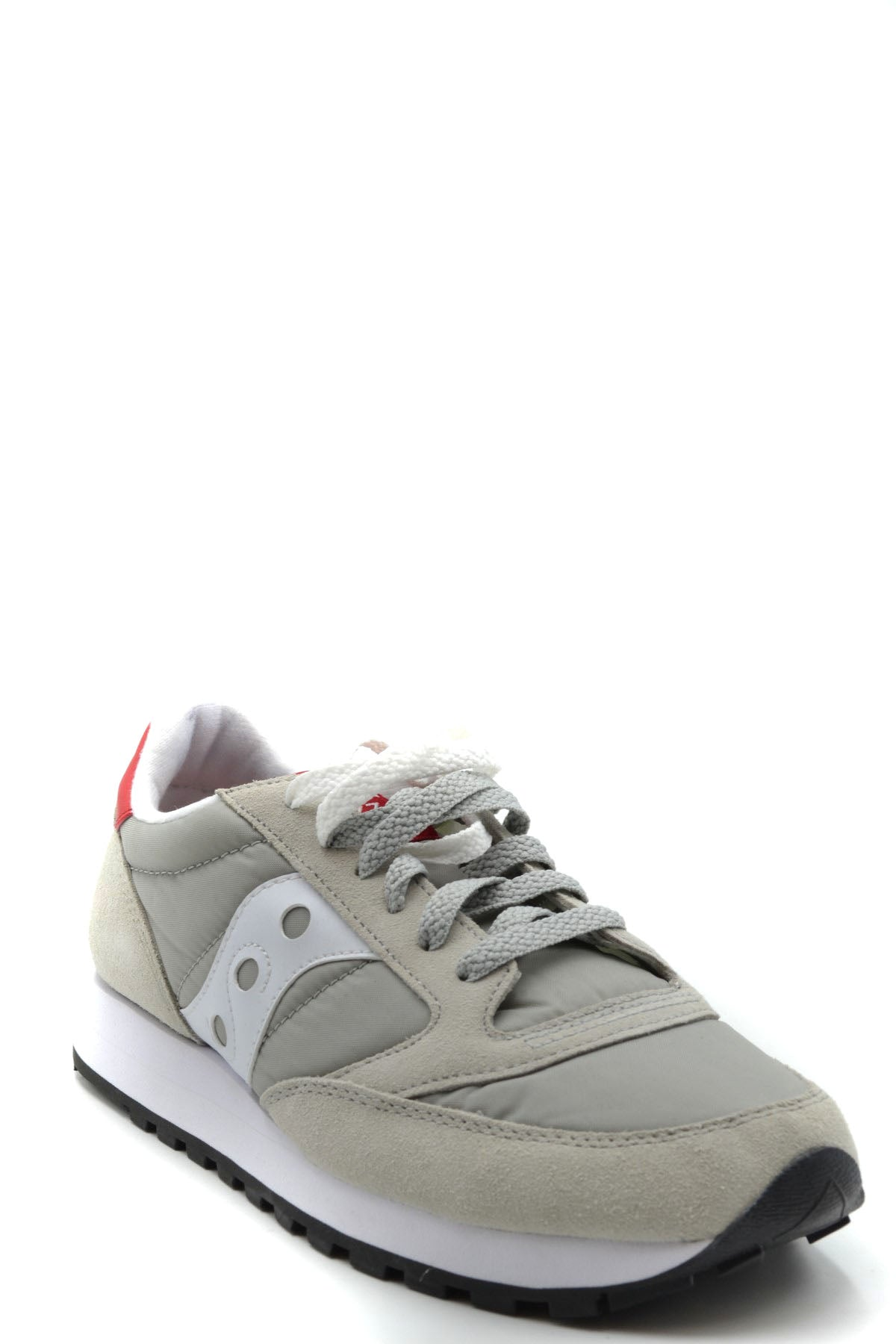 Shoes Saucony-Sports & Entertainment - Sneakers-Product Details Manufacturer Part Number: Jazz OriginalYear: 2019Composition: Nylon 100%Size: EuGender: WomanMade In: VietnamSeason: Spring / SummerType Of Accessory: ShoesMain Color: GrayTerms: New With Label-Keyomi-Sook