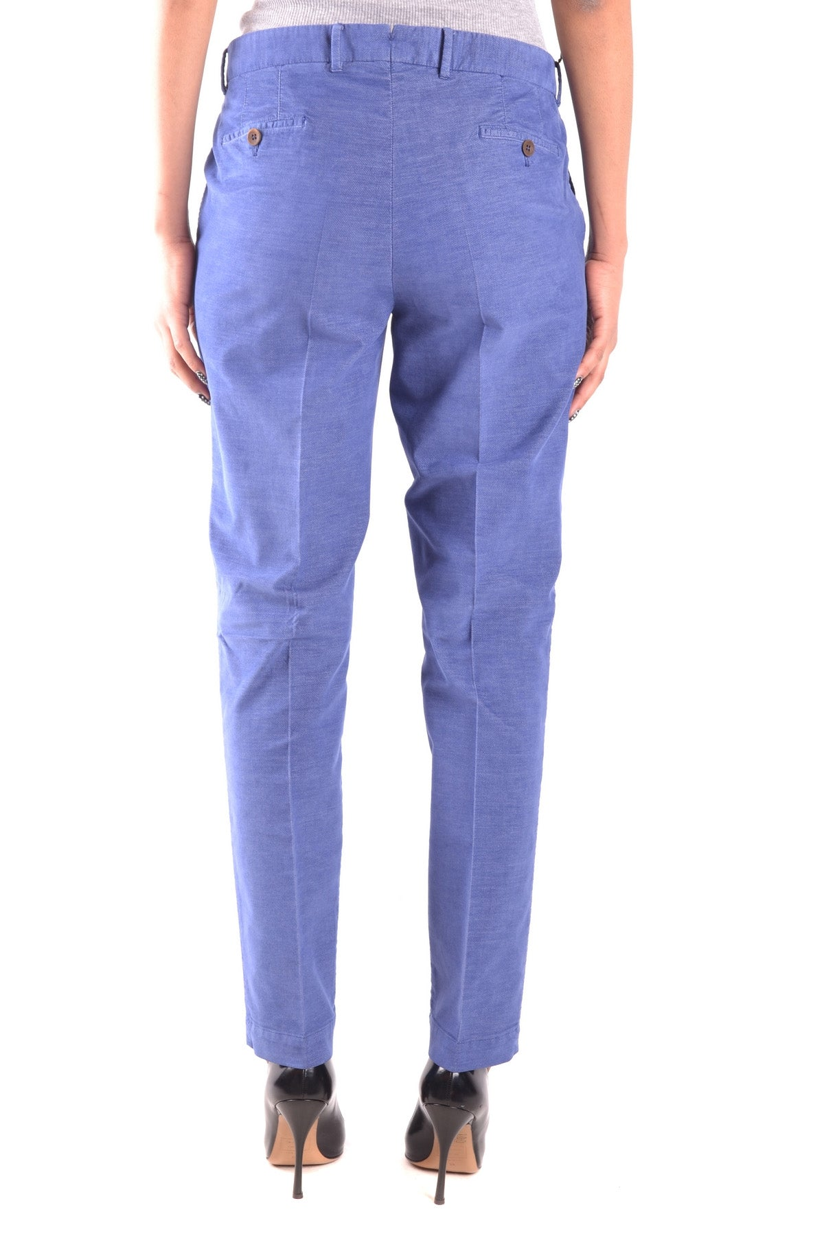 Trousers Pt01/Pt05-Trousers - WOMAN-Product Details Terms: New With LabelMain Color: BlueSeason: Fall / WinterYear: 2017Size: ItGender: WomanClothing Type: TrousersComposition: Cotton 67%, Elastane 1%, Polyester 32%-Keyomi-Sook