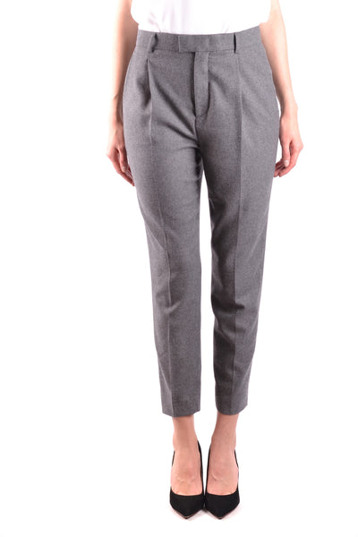 Trousers R.E.D. Valentino-Trousers - WOMAN-Product Details Terms: New With LabelYear: 2017Main Color: GrayGender: WomanMade In: RomaniaSize: ItSeason: Fall / WinterClothing Type: TrousersComposition: Elastane 1%, Wool 32%, Polyester 34%, Viscose 33%-Keyomi-Sook