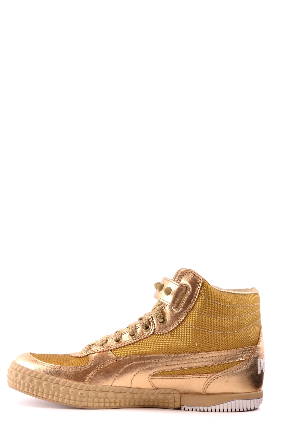 Shoes Puma-High-top sneakers - Shoes-Product Details Type Of Accessory: ShoesTerms: New With LabelMain Color: GoldGender: ManYear: 2017Size: EuSeason: Fall / WinterComposition: Leather 50%, Tissue 50%-Keyomi-Sook