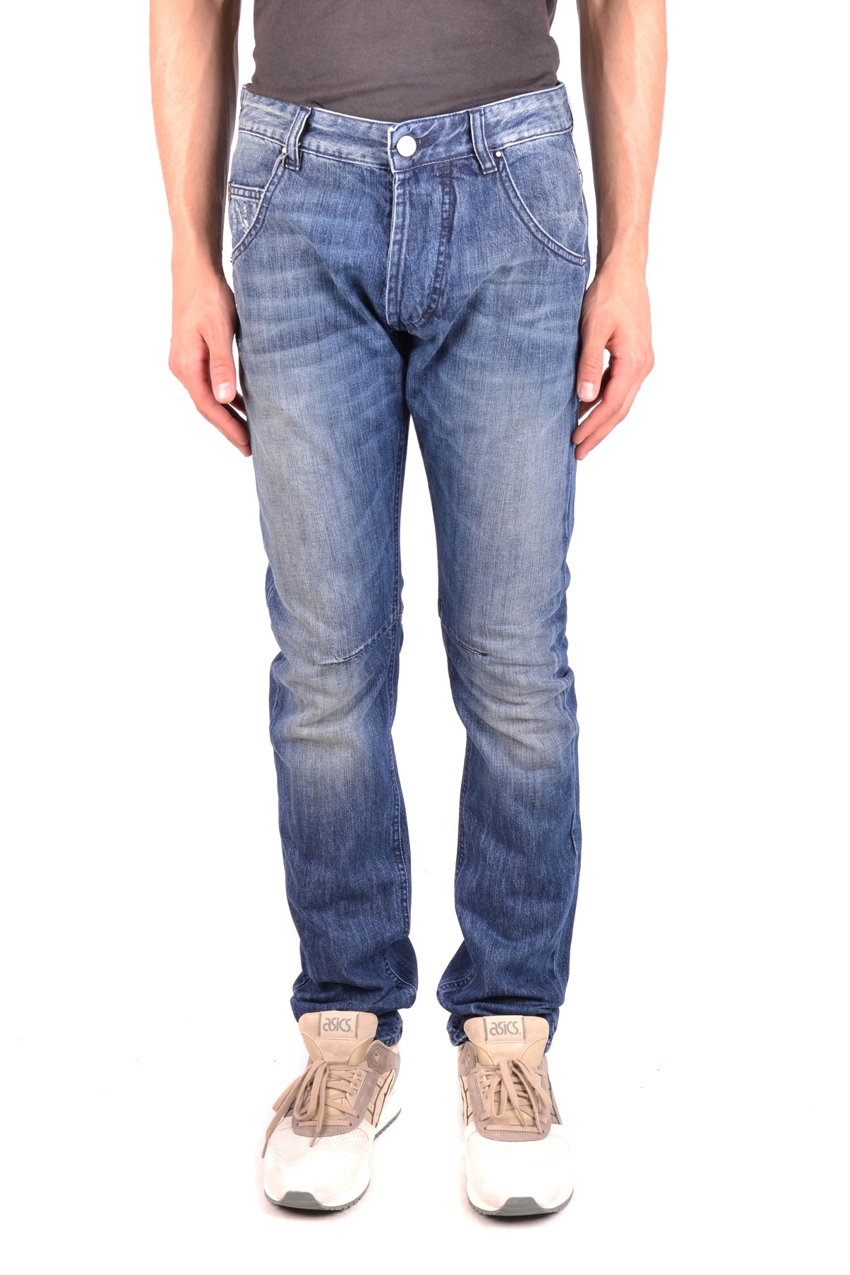 Jeans Pierre Balmain-Men's Fashion - Men's Clothing - Jeans-31-Product Details Composition: Cotton 35%, Polyester 65%Size: UsGender: ManMade In: ItalySeason: Fall / WinterMain Color: BlueClothing Type: JeansTerms: New With Label-Keyomi-Sook