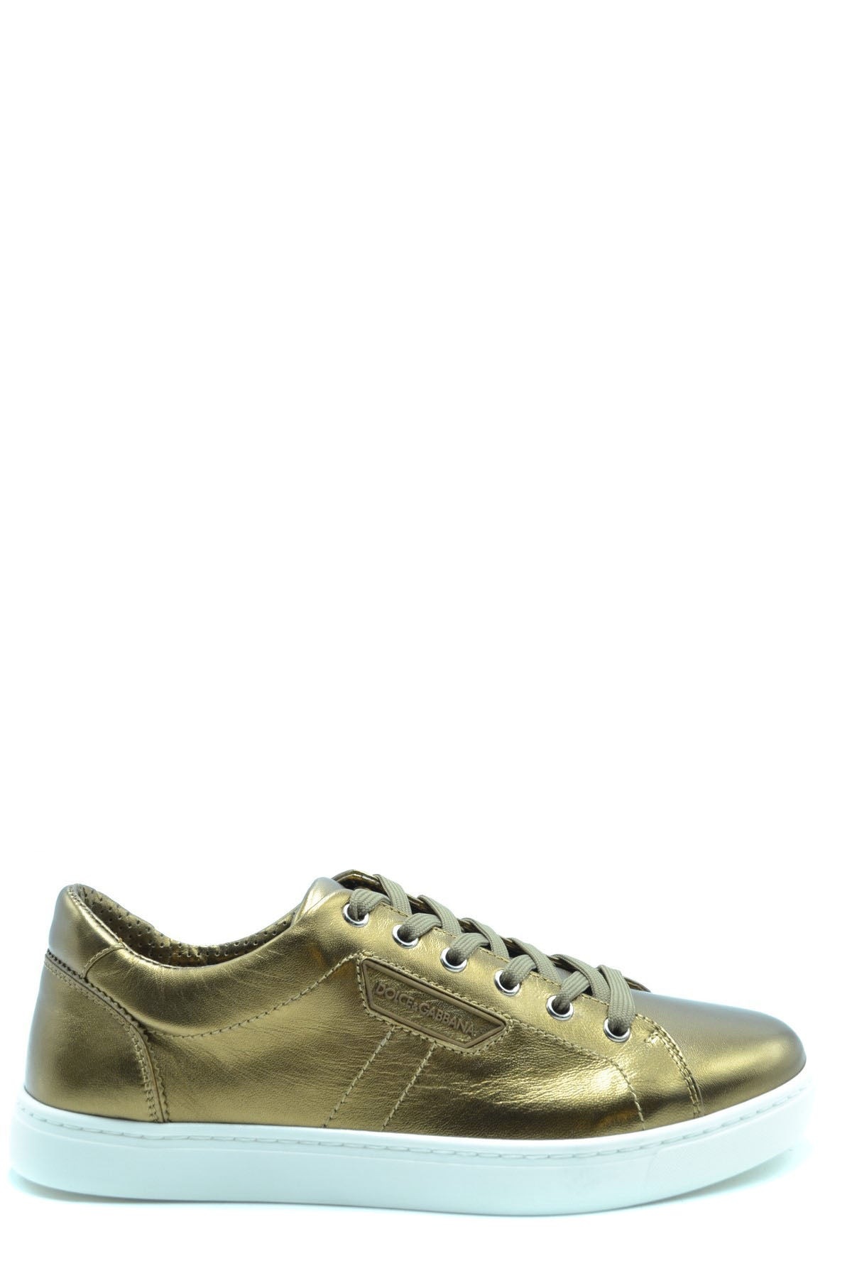 Shoes Dolce & Gabbana-Sports & Entertainment - Sneakers-40-Product Details Terms: New With LabelMain Color: GoldType Of Accessory: ShoesSeason: Fall / WinterMade In: ItalyGender: ManSize: EuComposition: Leather 100%Year: 2020Manufacturer Part Number: Cs1362 Ac955 89900-Keyomi-Sook