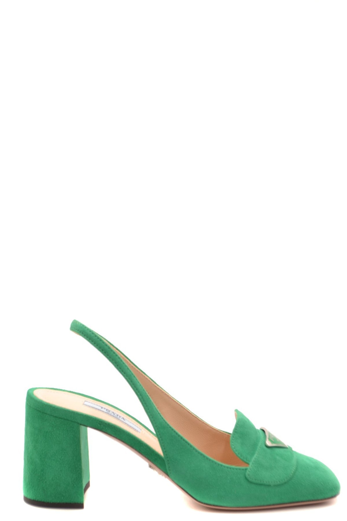 Shoes Prada-Women's Fashion - Women's Shoes - Women's Sandals-36-Product Details Terms: New With LabelMain Color: GreenType Of Accessory: ShoesSeason: Spring / SummerMade In: ItalyGender: WomanHeel'S Height: 8Size: EuComposition: Chamois 100%Year: 2020Manufacturer Part Number: 1D016M 008 F077U 11-Keyomi-Sook