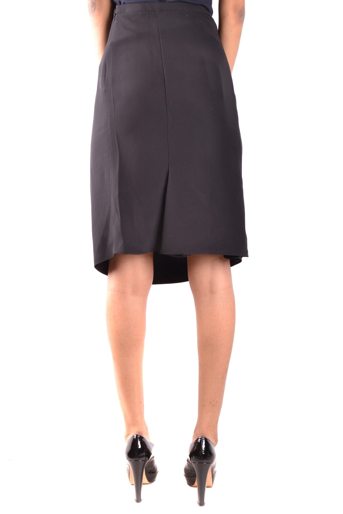 Skirt Armani Collezioni-Skirts - WOMAN-Product Details Terms: New With LabelYear: 2017Main Color: BlackGender: WomanMade In: ItalySize: ItSeason: Spring / SummerClothing Type: SkirtComposition: Acetate 72%, Silk 28%-Keyomi-Sook