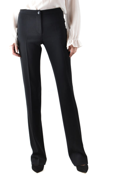 Trousers Boutique Moschino-Trousers - WOMAN-38-Product Details Season: Fall / WinterTerms: New With LabelMain Color: BlackGender: WomanMade In: ItalyManufacturer Part Number: Ra0302Size: ItYear: 2018Clothing Type: TrousersComposition: Acetate 70%, Polyester 30%-Keyomi-Sook