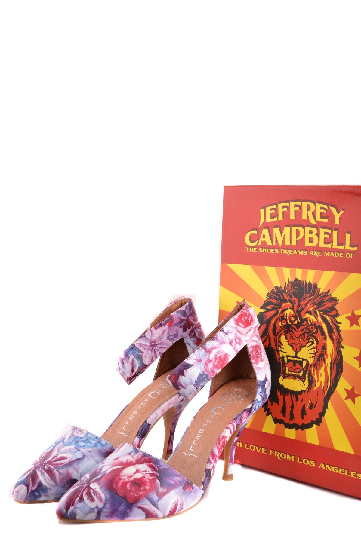 Shoes Jeffrey Campbell-Décolleté - WOMAN-Product Details Type Of Accessory: ShoesTerms: New With LabelMain Color: MulticolorSeason: Spring / SummerYear: 2017Size: EuGender: WomanComposition: Leather 100%-Keyomi-Sook