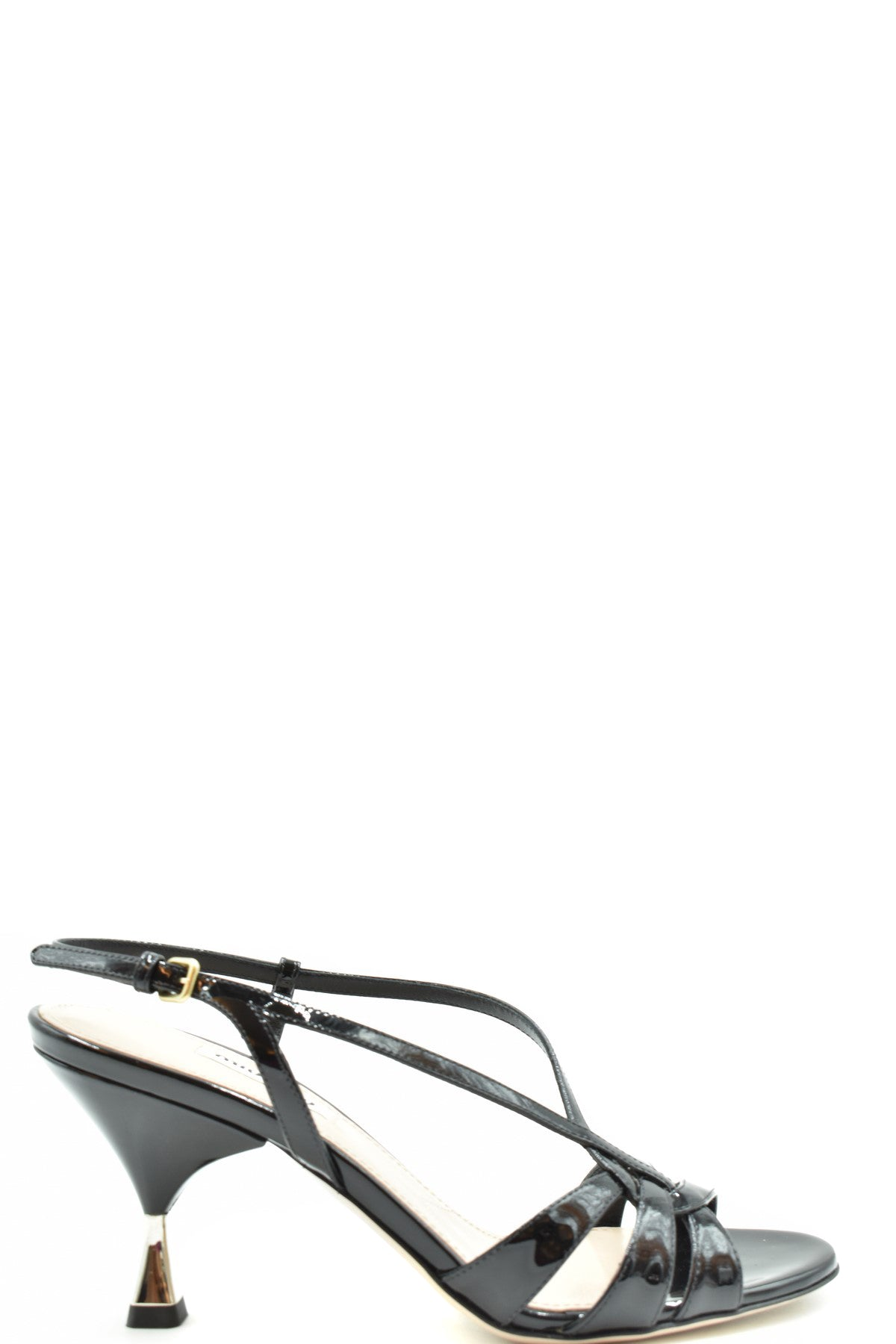 Shoes Miu Miu-Women's Fashion - Women's Shoes - Women's Sandals-36-Product Details Terms: New With LabelMain Color: BlackType Of Accessory: ShoesSeason: Spring / SummerMade In: ItalyGender: WomanHeel'S Height: 8 CmSize: EuComposition: Dye 100%Year: 2020Manufacturer Part Number: 5X154D 3Asn-Keyomi-Sook