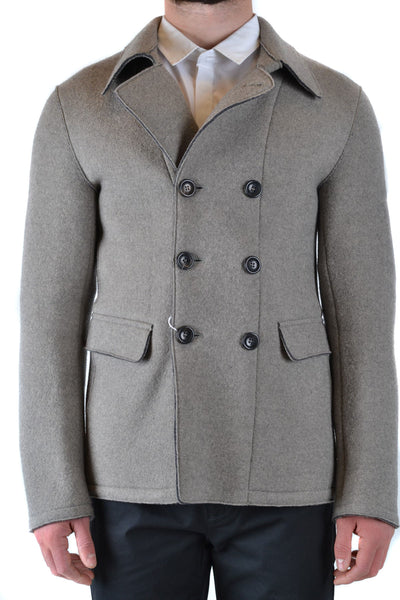 Jacket Armani Collezioni-root - Men - Apparel - Outerwear - Jackets-Product Details Manufacturer Part Number: Kcb63W Kcw65Year: 2019Composition: Wool 98%, Polyamide 2%Size: ItGender: ManMade In: RomaniaSeason: Fall / WinterMain Color: Gray-Keyomi-Sook