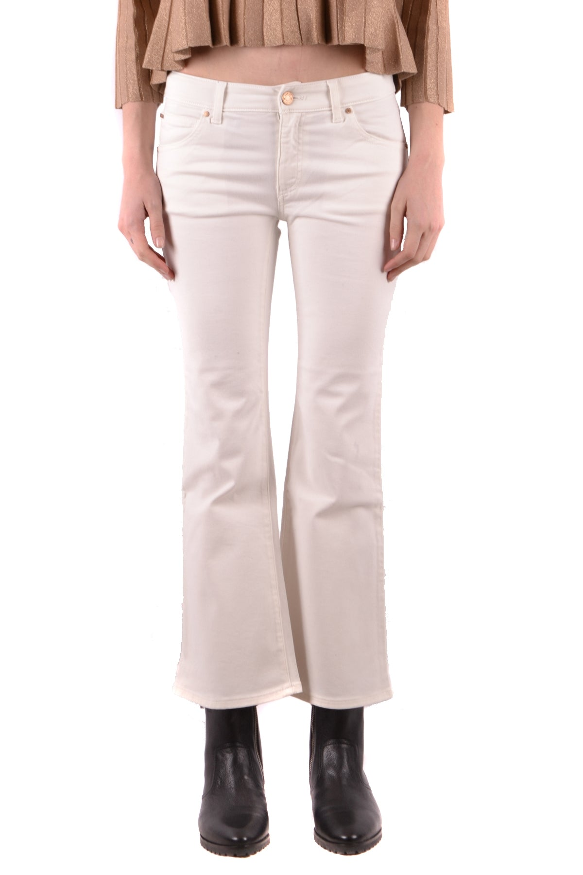 Jeans Armani Jeans-Jeans - WOMAN-25-Product Details Terms: New With LabelYear: 2018Main Color: WhiteGender: WomanMade In: RomaniaManufacturer Part Number: 6Y5J04 5N2FzSize: UsSeason: Spring / SummerClothing Type: JeansComposition: Cotton 98%, Elastane 2%-Keyomi-Sook
