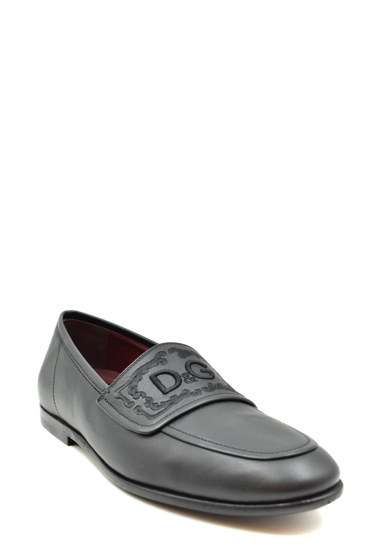 Shoes Dolce & Gabbana-Men's Fashion - Men's Shoes - Loafers-Product Details Year: 2020Composition: Leather 100%Size: EuGender: ManType Of Accessory: ShoesMain Color: BlackTerms: New With LabelSeason: Fall / WinterMade In: ItalyManufacturer Part Number: A50253 Ac355 80999-Keyomi-Sook