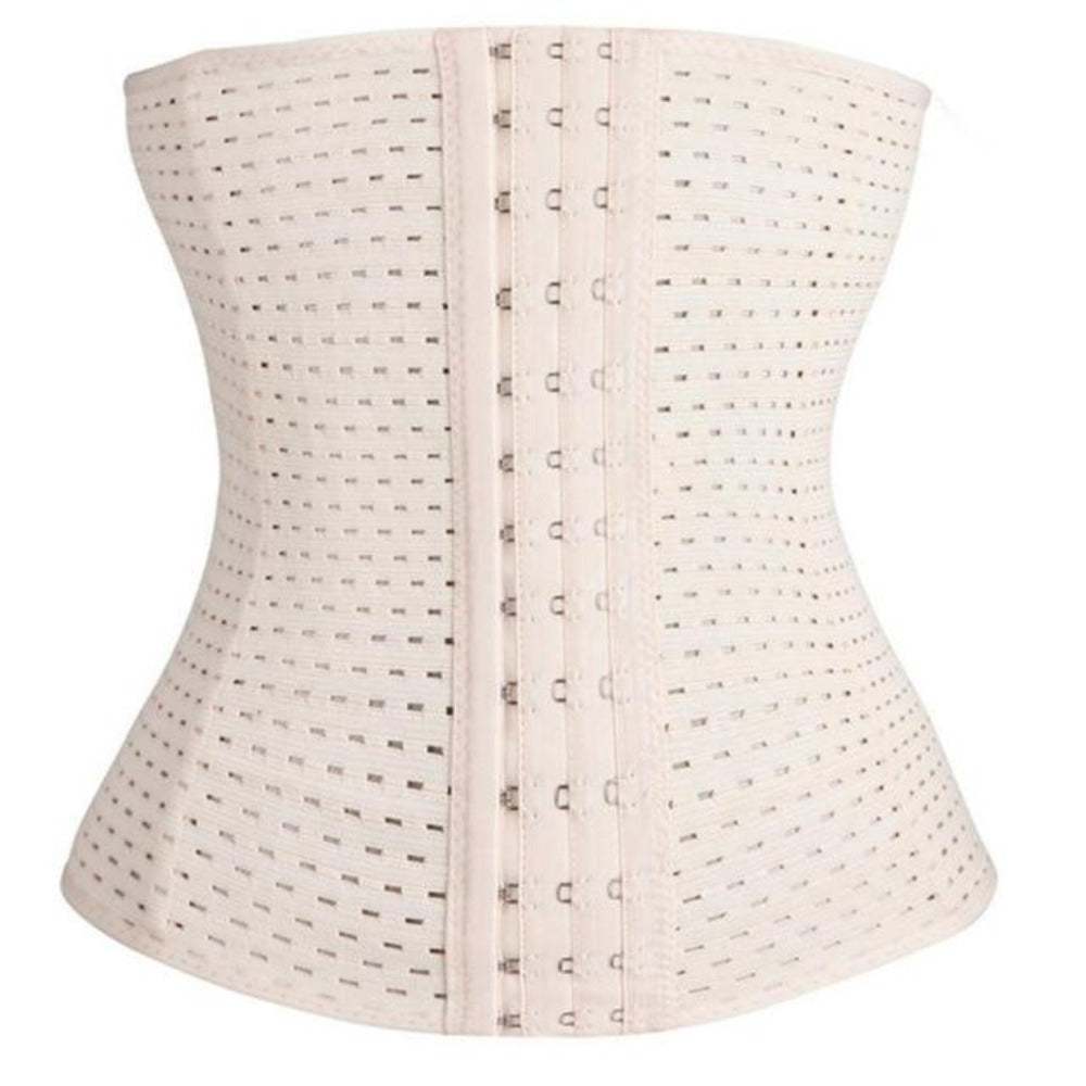 Women's Waist Shaper Corset-Discrètes-beige-XS-Product Details: Women's Waist Trainer Strap Belt Slimming Shaper Corset Item Type: Shapers Material: Polyester Control Level: Firm Shape wear: Waist Cinchers Fabric Type: Broadcloth Thickness: Thin Size Chart:-Keyomi-Sook