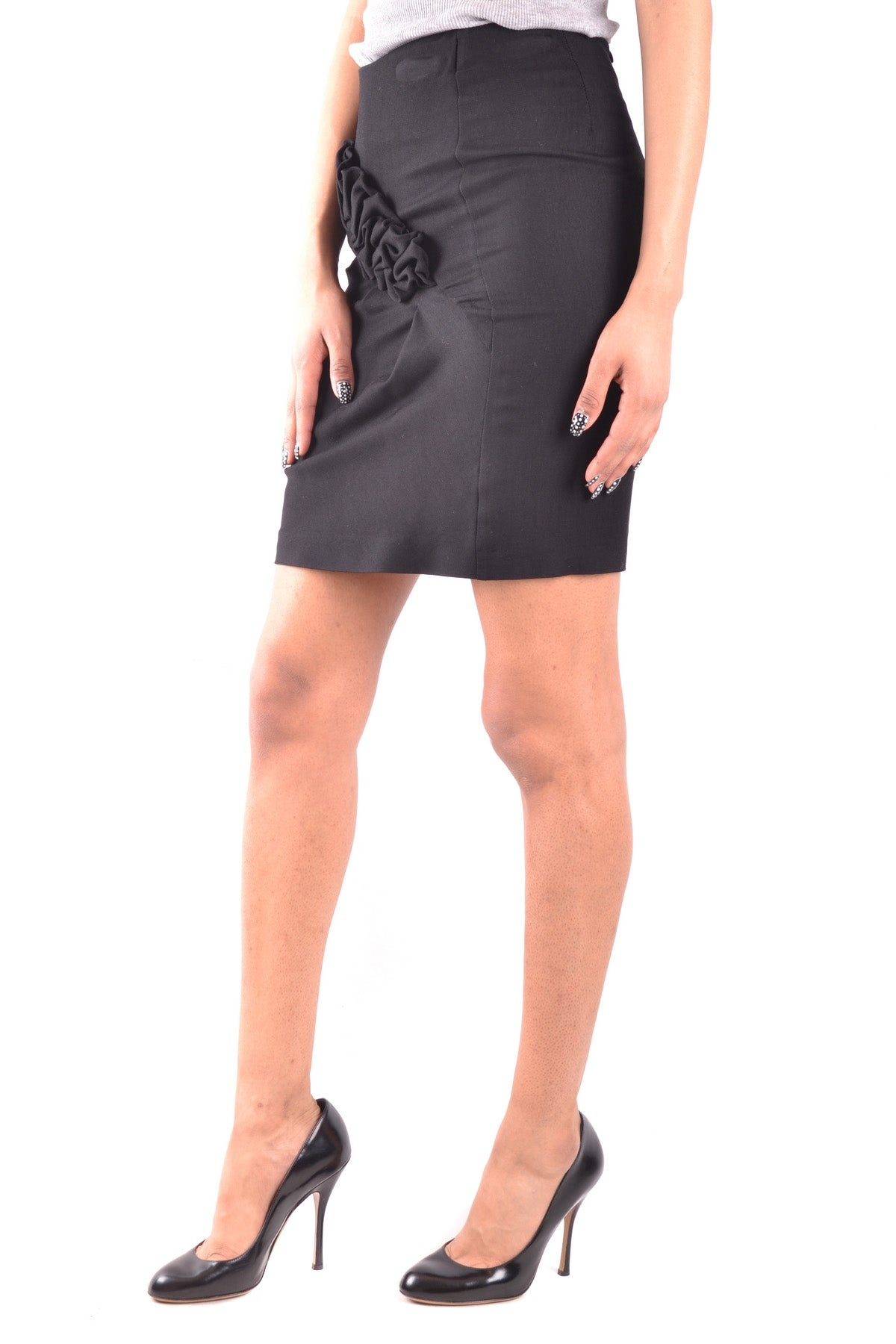 Skirt Emporio Armani-Skirts - WOMAN-Product Details Terms: New With LabelMain Color: BlackGender: WomanYear: 2017Size: ItSeason: Spring / SummerClothing Type: SkirtComposition: Viscose 100%-Keyomi-Sook