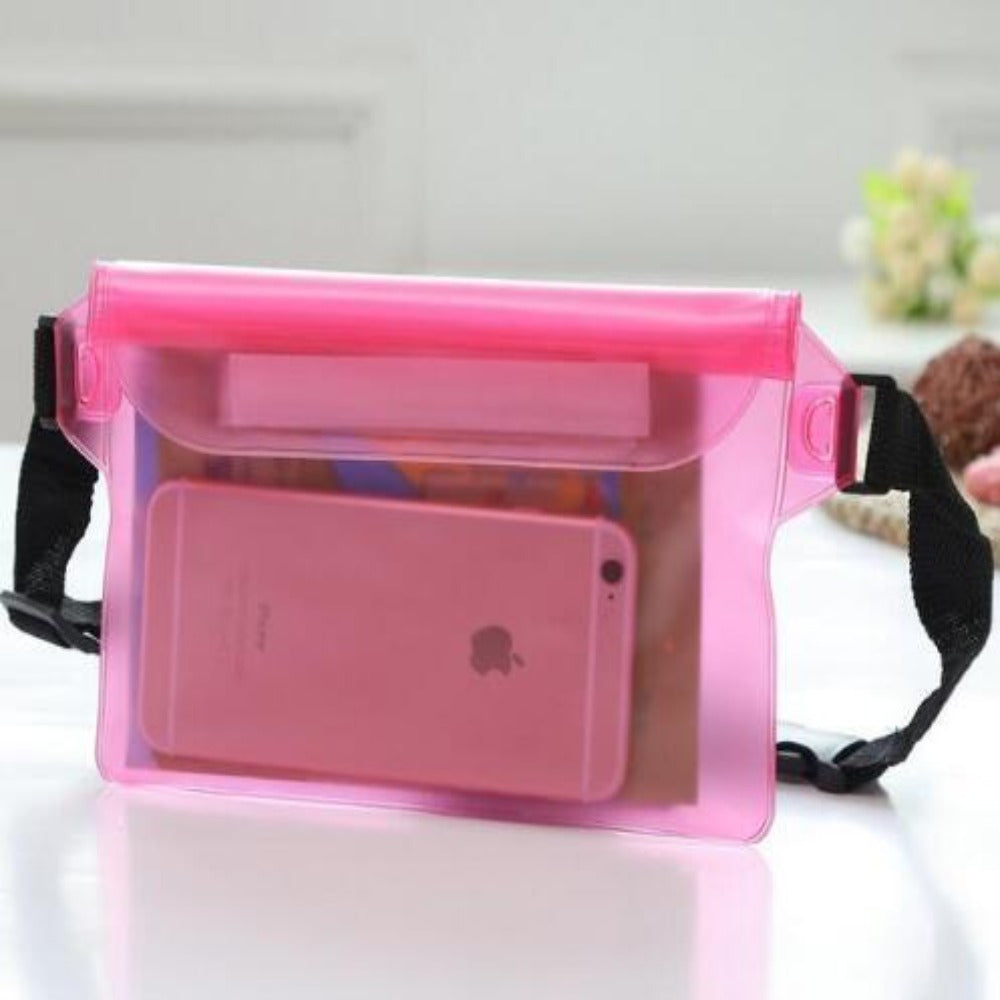 Waterproof Fanny Pack Phone Pocket-Fanny My Bum-Red-Product Details: Waterproof Diving Waist Fanny Pack Phone Pocket-Keyomi-Sook