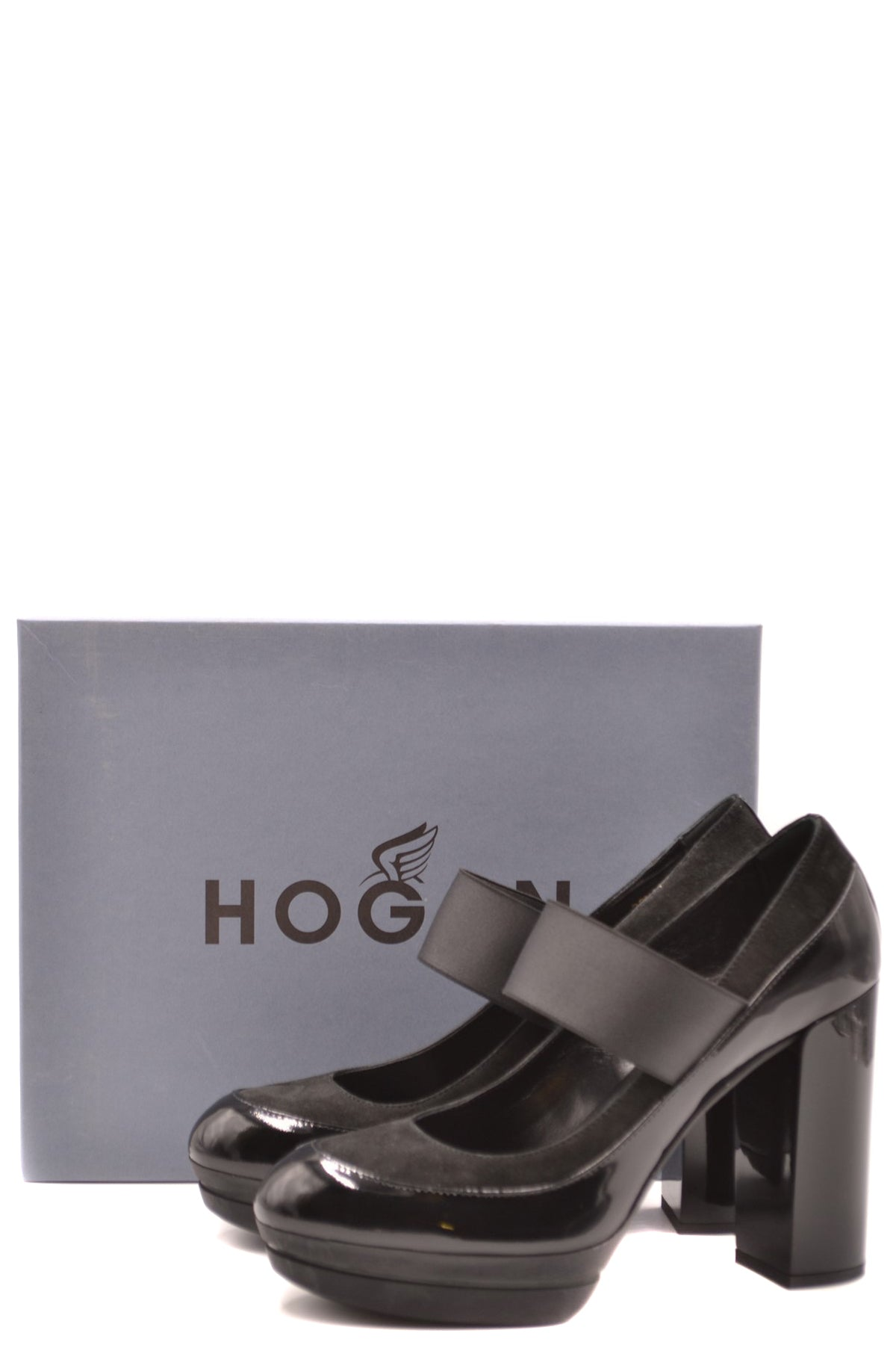 Shoes Hogan--Product Details Manufacturer Part Number: Hxw2990W4107Eub999Year: 2020Composition: Leather 100%Size: EuGender: WomanMade In: ItalySeason: Fall / WinterType Of Accessory: ShoesMain Color: BlackTerms: New With Label-Keyomi-Sook