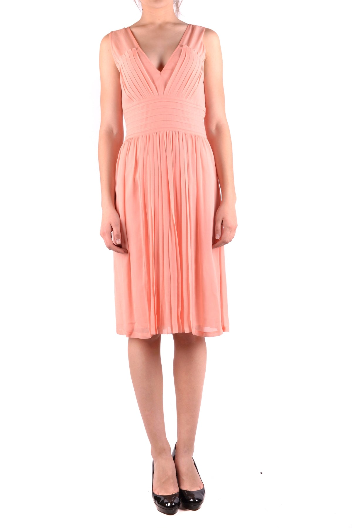 Dress Armani Jeans-Dress - WOMAN-40-Product Details Terms: New With LabelYear: 2017Main Color: CoralSeason: Spring / SummerMade In: ChinaSize: ItGender: WomanClothing Type: TaglieurComposition: Viscose 100%-Keyomi-Sook