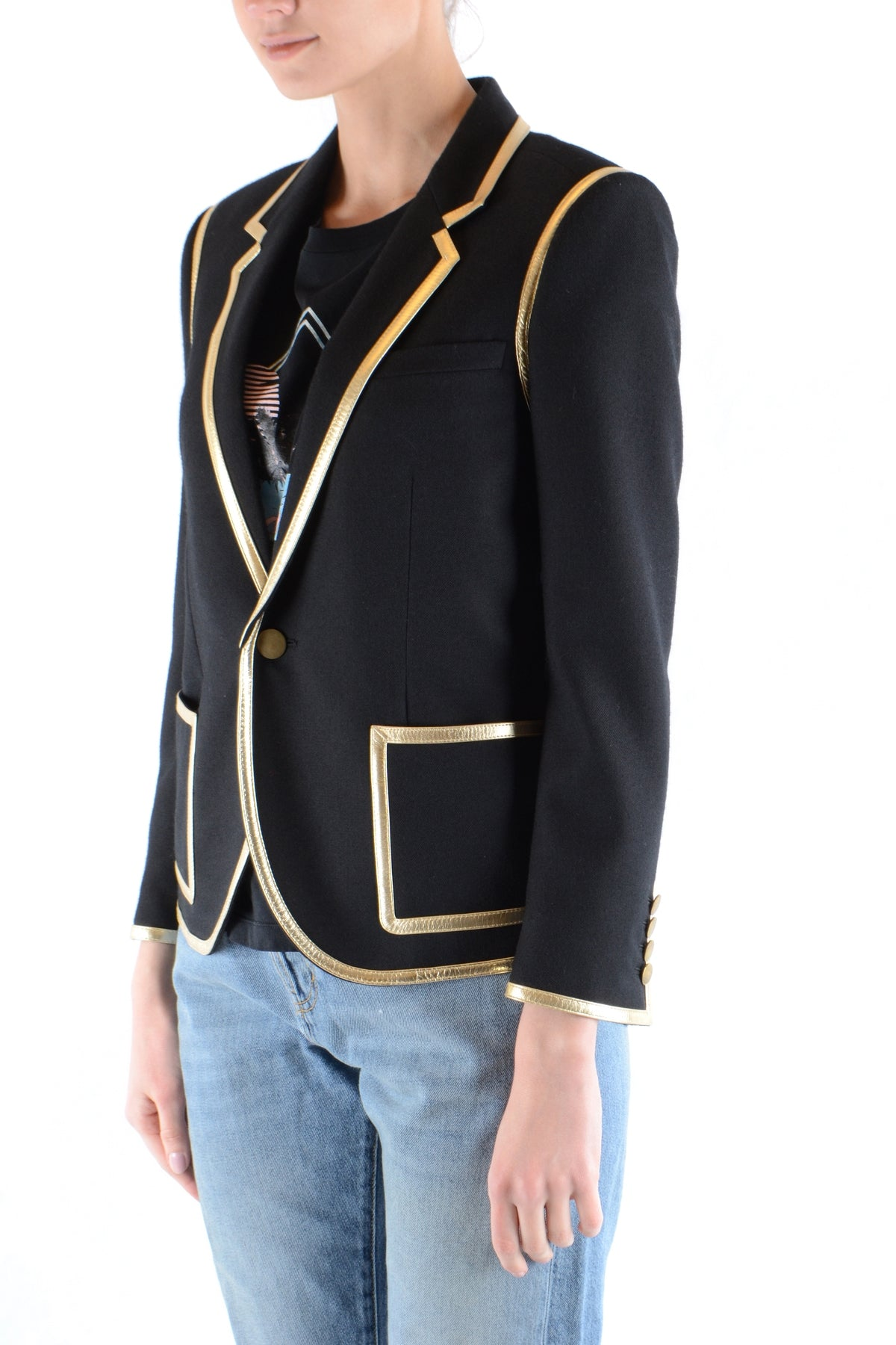 Jacket Saint Laurent-Jacket - WOMAN-Keyomi-Sook