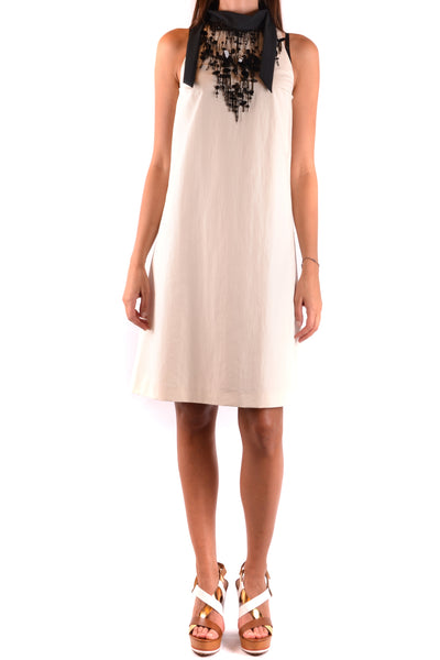Dress Brunello Cucinelli-Dress - WOMAN-Product Details Season: Spring / SummerTerms: New With LabelMain Color: WhiteGender: WomanMade In: ItalyManufacturer Part Number: M0F29A4199Size: IntYear: 2018Clothing Type: DressComposition: Cotton 72%, Polyester 28%-Keyomi-Sook