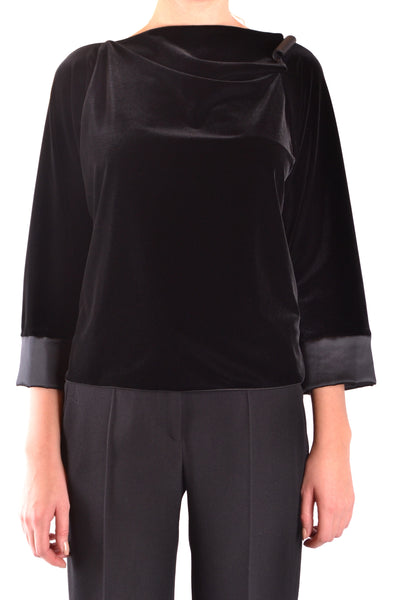 T-Shirt Armani Collezioni-T-shirt - WOMAN-42-Product Details Season: Fall / WinterTerms: New With LabelMain Color: BlackGender: WomanMade In: ItalyManufacturer Part Number: 6Ymm59 Mjw4ZSize: ItYear: 2018Clothing Type: Sweater Composition: Elastane 10%, Polyester 90%-Keyomi-Sook