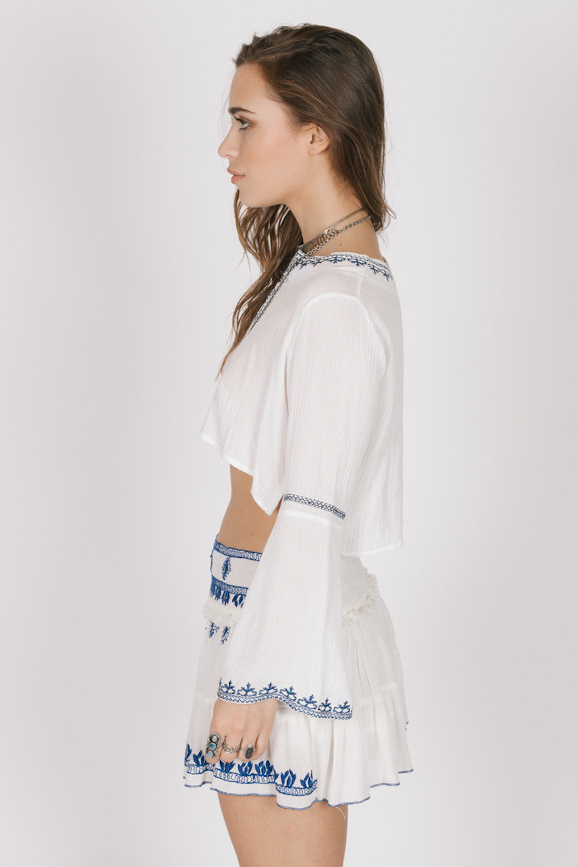 Santorini Mini Skirt-Women - Apparel - Shirts - Tunics-XS-Keyomi-Sook