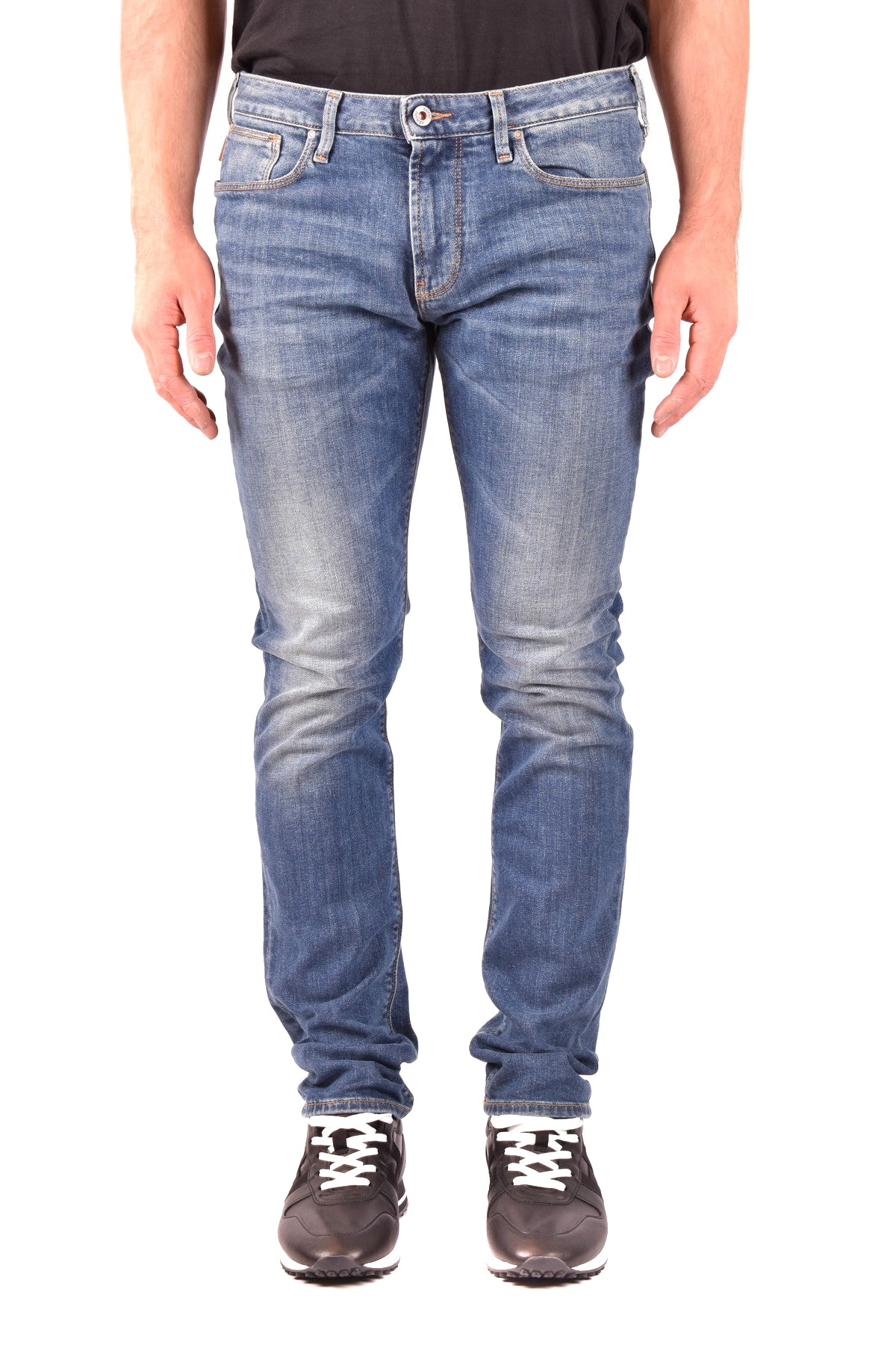 Jeans Armani Jeans-Men's Fashion - Men's Clothing - Jeans-31-Product Details Main Color: BlueClothing Type: JeansTerms: New With LabelSeason: Spring / SummerMade In: TunisiaGender: ManSize: UsComposition: Cotton 99%, Elastane 1%Year: 2020Manufacturer Part Number: 6Y6J06 6D04Z 0551-Keyomi-Sook