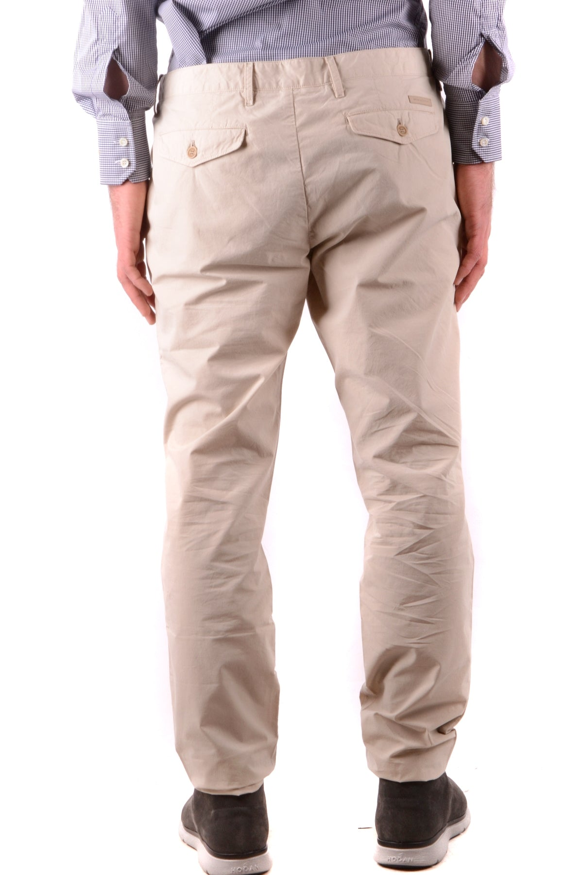 Trousers Burberry-Trousers - MAN-Product Details Season: Spring / SummerTerms: New With LabelMain Color: BeigeGender: ManMade In: ThailandManufacturer Part Number: 4011597 1010Size: UsYear: 2018Clothing Type: TrousersComposition: Cotton 100%-Keyomi-Sook