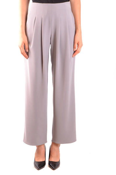 Trousers Armani Collezioni-Trousers - WOMAN-40-Product Details Season: Fall / WinterTerms: New With LabelMain Color: GrayGender: WomanMade In: ChinaManufacturer Part Number: Vmp18T Vm015 628Size: ItYear: 2018Clothing Type: TrousersComposition: Polyester 100%-Keyomi-Sook