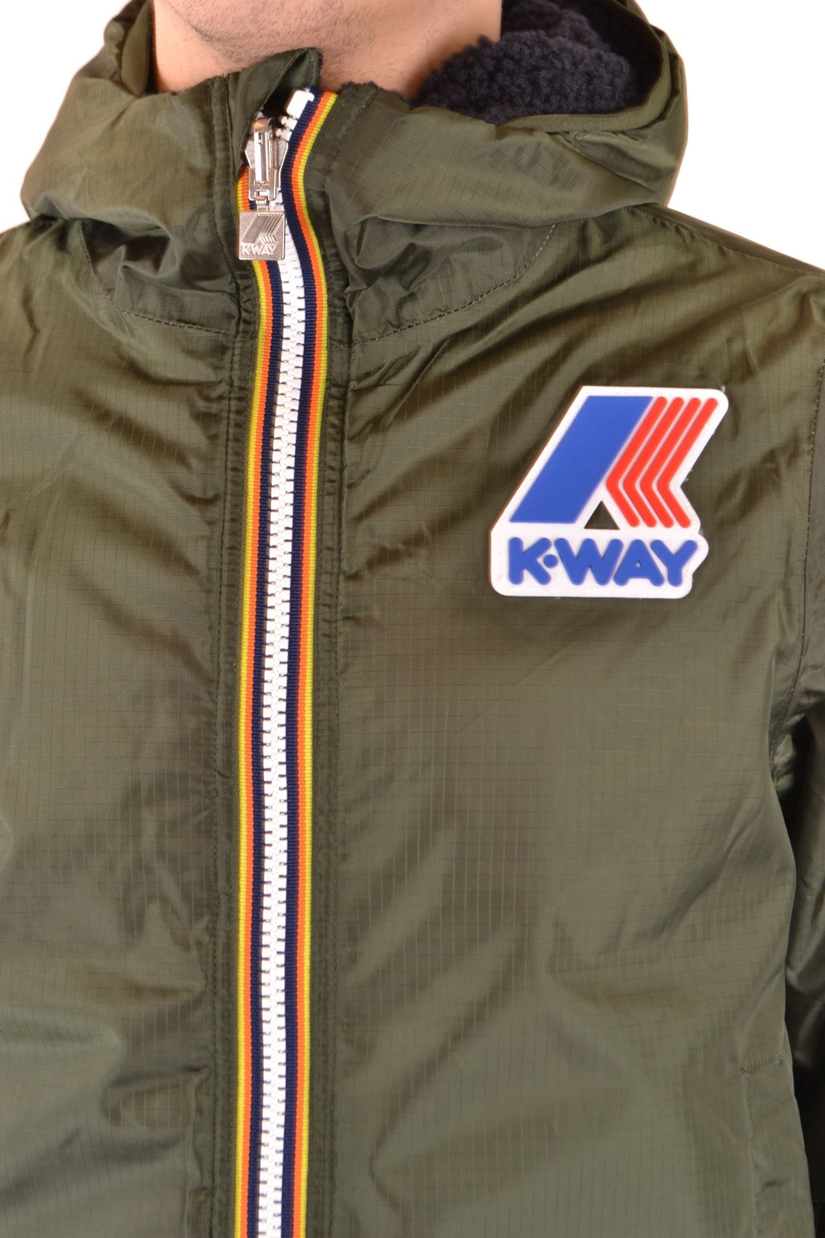Jacket K-Way-Men's Fashion - Men's Clothing - Jackets & Coats - Jackets-Product Details Manufacturer Part Number: K009M90Year: 2018Composition: Polyamide 100%Size: IntGender: ManMade In: ChinaSeason: Fall / WinterMain Color: Military GreenClothing Type: BlousonTerms: New With Label-Keyomi-Sook
