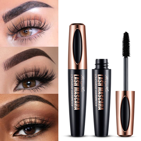 Waterproof Fiber Eyelash Mascara-Beauty Shop-Product Waterproof Fiber Eyelash Mascara Black Long Curling Mascara Eye Lashes Extension Makeup Mascara-Keyomi-Sook