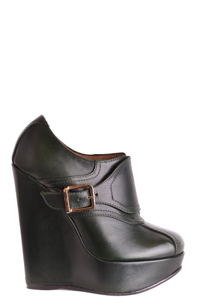 Shoes Dsquared-Ankle boots - WOMAN-36-Product Details Type Of Accessory: ShoesTerms: New With LabelYear: 2017Main Color: Military GreenGender: WomanMade In: ItalySize: EuSeason: Fall / WinterComposition: Leather 100%-Keyomi-Sook