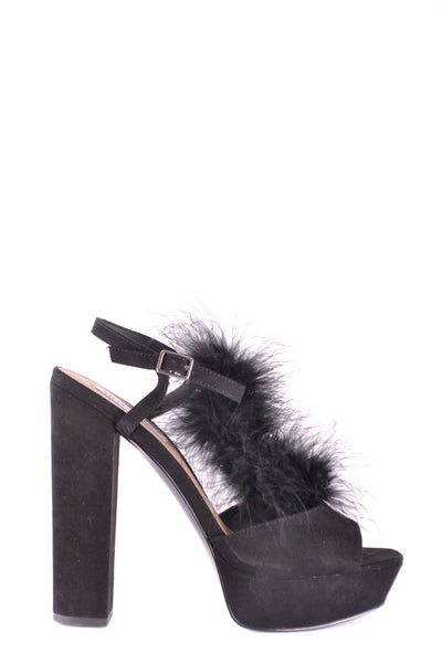 Shoes Steve Madden-Sandals - WOMAN-8-Product Details Type Of Accessory: ShoesTerms: New With LabelHeel'S Height: 15 CmMain Color: BlackGender: WomanMade In: ChinaSize: UsYear: 2017Season: Fall / WinterComposition: Chamois 100%-Keyomi-Sook