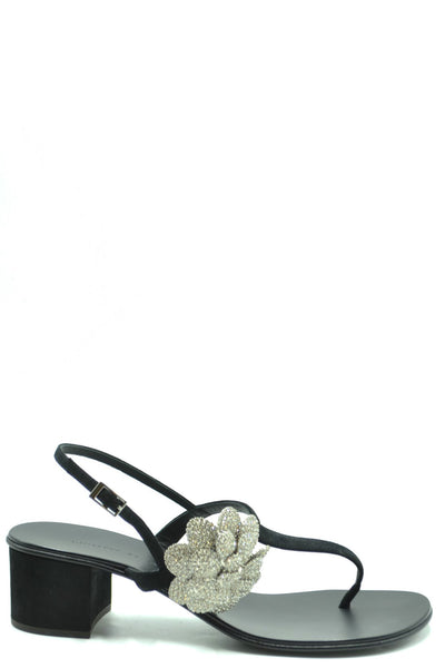 Shoes Giuseppe Zanotti-Women's Fashion - Women's Shoes - Women's Sandals-Product Details Terms: New With LabelMain Color: BlackType Of Accessory: ShoesSeason: Spring / SummerMade In: ItalyGender: WomanSize: EuComposition: Leather 100%Year: 2020Manufacturer Part Number: E000154-Keyomi-Sook
