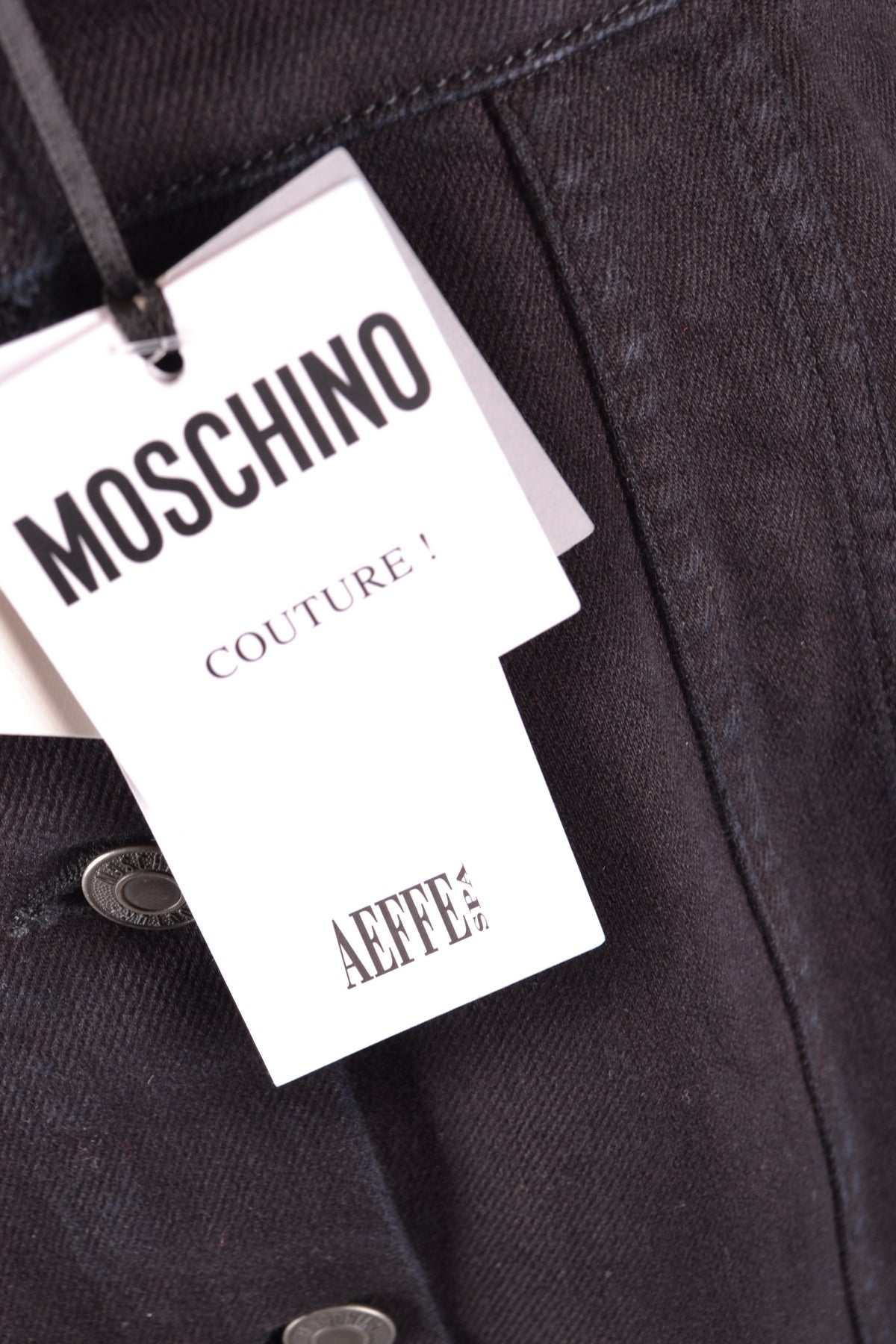 Dress Moschino-Dress - WOMAN-Product Details Season: Spring / SummerTerms: New With LabelMain Color: BlackGender: WomanMade In: ItalyManufacturer Part Number: E A0461Size: ItYear: 2018Clothing Type: TaglieurComposition: Cotton 98%, Elastane 2%-Keyomi-Sook