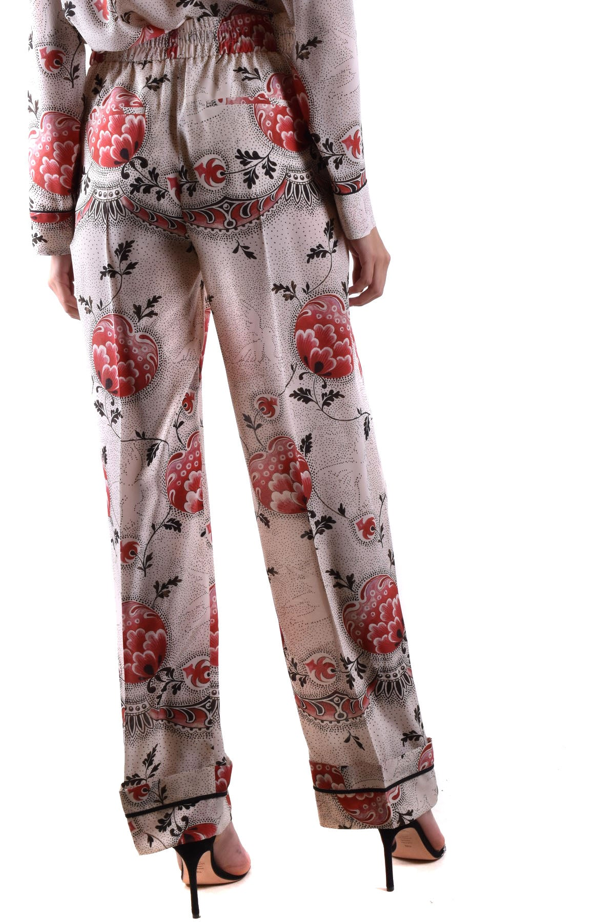 Trousers R.E.D. Valentino-Women's Fashion - Women's Clothing - Bottoms - Pants & Capris-Product Details Terms: New With LabelClothing Type: TrousersMain Color: MulticolorSeason: Spring / SummerMade In: HungaryGender: WomanSize: ItComposition: Silk 100%Year: 2020Manufacturer Part Number: Tr3Rbc20 4S2-Keyomi-Sook