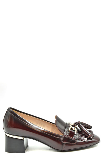 Shoes Tod'S-36-Product Details Terms: New With LabelMain Color: BurgundyType Of Accessory: ShoesSeason: Fall / WinterMade In: ItalyGender: WomanHeel'S Height: 5Size: EuComposition: Leather 100%Year: 2019Manufacturer Part Number: Xxw10B0Z870Shar810-Keyomi-Sook