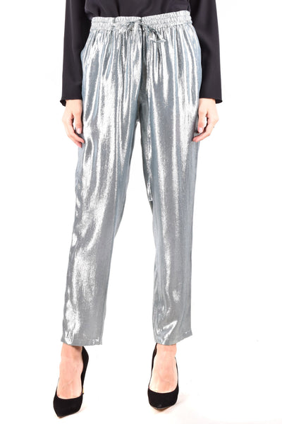 Trousers R.E.D. Valentino-Women's Fashion - Women's Clothing - Bottoms - Pants & Capris-Product Details Terms: New With LabelClothing Type: TrousersMain Color: SilverSeason: Fall / WinterMade In: RomaniaGender: WomanSize: ItComposition: Nylon 20%, Viscose 80%Year: 2020Manufacturer Part Number: Tr3Rba65-Keyomi-Sook