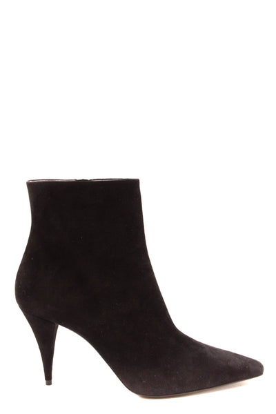 Shoes Saint Laurent-Women's Fashion - Women's Shoes - Women's Boots-36-Product Details Terms: New With LabelMain Color: BlackType Of Accessory: BootsSeason: Fall / WinterMade In: ItalyGender: WomanHeel'S Height: 7Size: EuComposition: Chamois 100%Year: 2019Manufacturer Part Number: 582119 C2000 1000-Keyomi-Sook