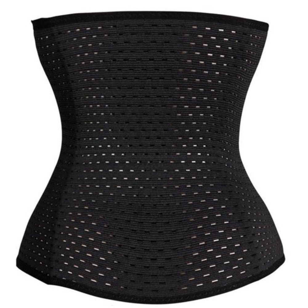 Women's Waist Shaper Corset-Discrètes-black-XS-Product Details: Women's Waist Trainer Strap Belt Slimming Shaper Corset Item Type: Shapers Material: Polyester Control Level: Firm Shape wear: Waist Cinchers Fabric Type: Broadcloth Thickness: Thin Size Chart:-Keyomi-Sook