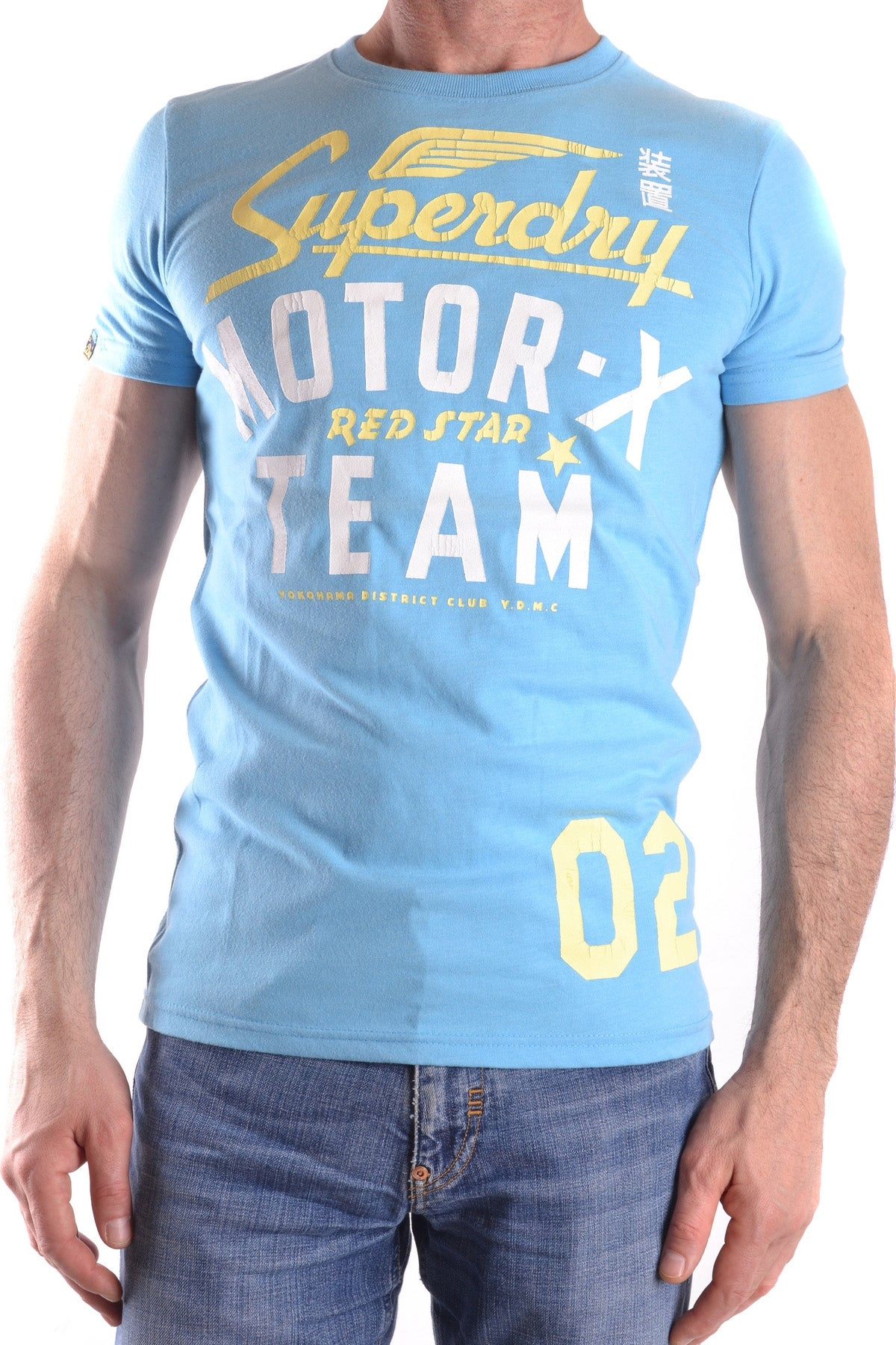 T-Shirt Superdry-Men's Fashion - Men's Clothing - Tops & Tees - T-Shirts-XS-Product Details Composition: Cotton 65%, Polyester 35%Size: IntGender: ManMade In: TurcheySeason: Spring / SummerMain Color: HeavenlyClothing Type: T-ShirtTerms: New With LabelYear: 2017-Keyomi-Sook