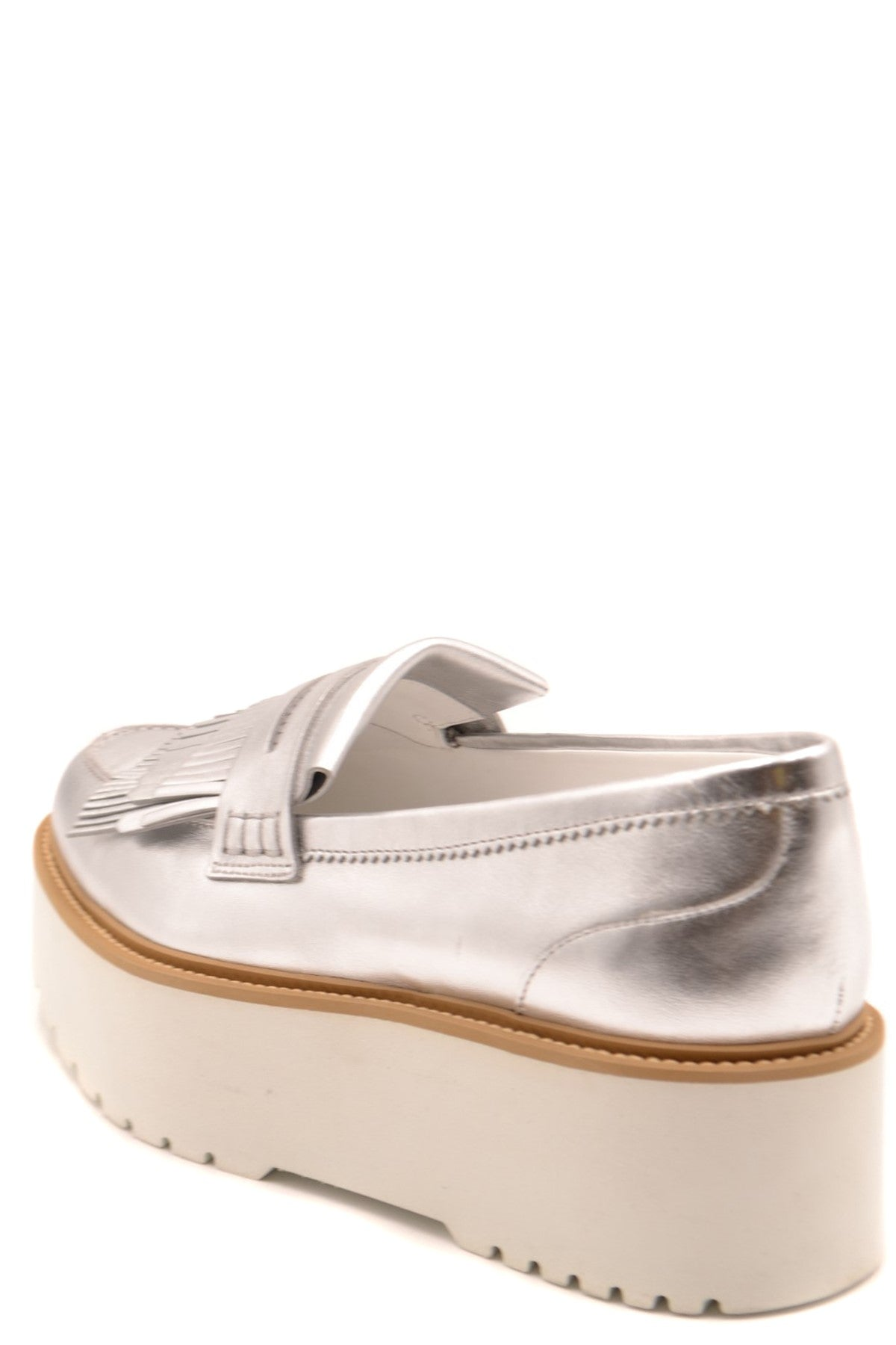Shoes Hogan-Women's Fashion - Women's Shoes - Women's Sandals-Product Details Terms: New With LabelMain Color: SilverType Of Accessory: ShoesSeason: Spring / SummerMade In: ItalyGender: WomanSize: EuComposition: Leather 100%Year: 2020Manufacturer Part Number: Hxw3550Af10Sv0B200-Keyomi-Sook