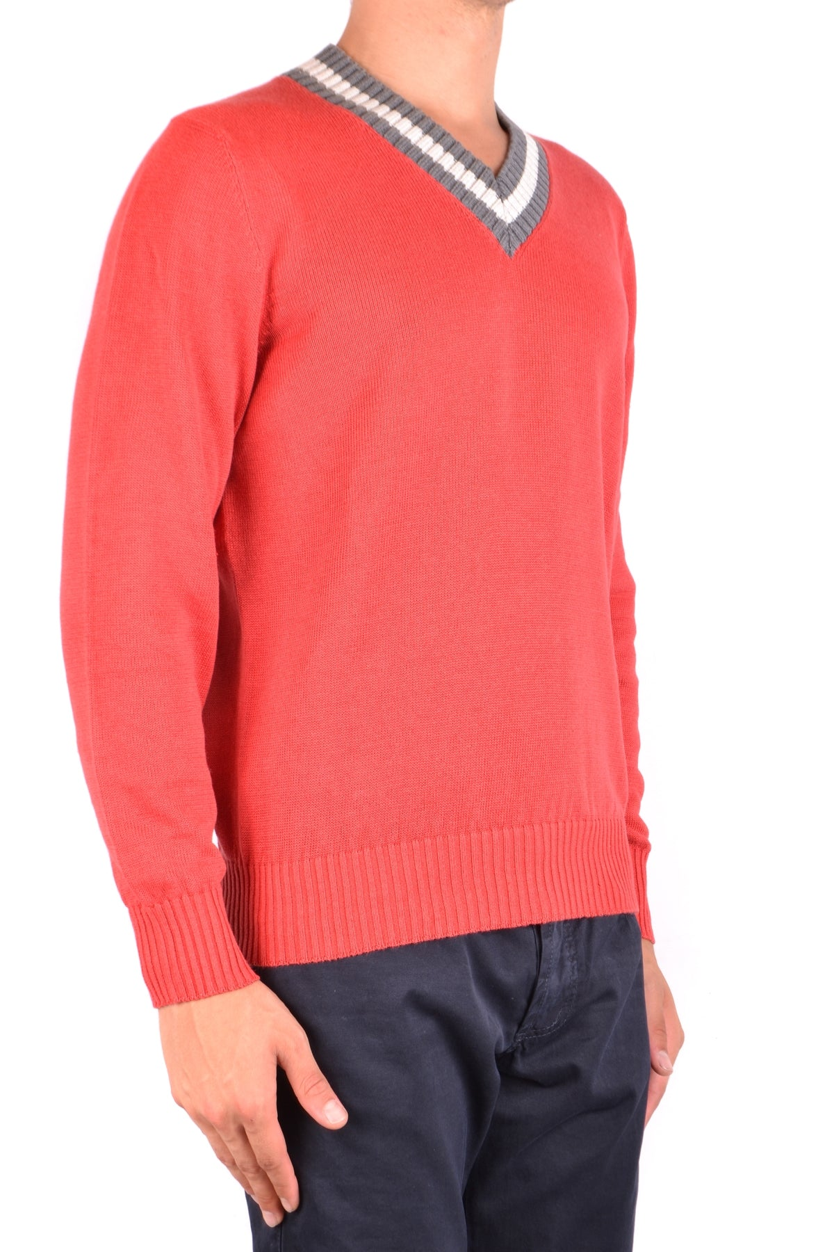 Sweater Brunello Cucinelli-Sweater - MAN-Product Details Season: Spring / SummerTerms: New With LabelMain Color: RedGender: ManMade In: ItalyManufacturer Part Number: M2L77502Size: ItYear: 2018Clothing Type: Sweater Composition: Cotton 23%, Linen 77%-Keyomi-Sook