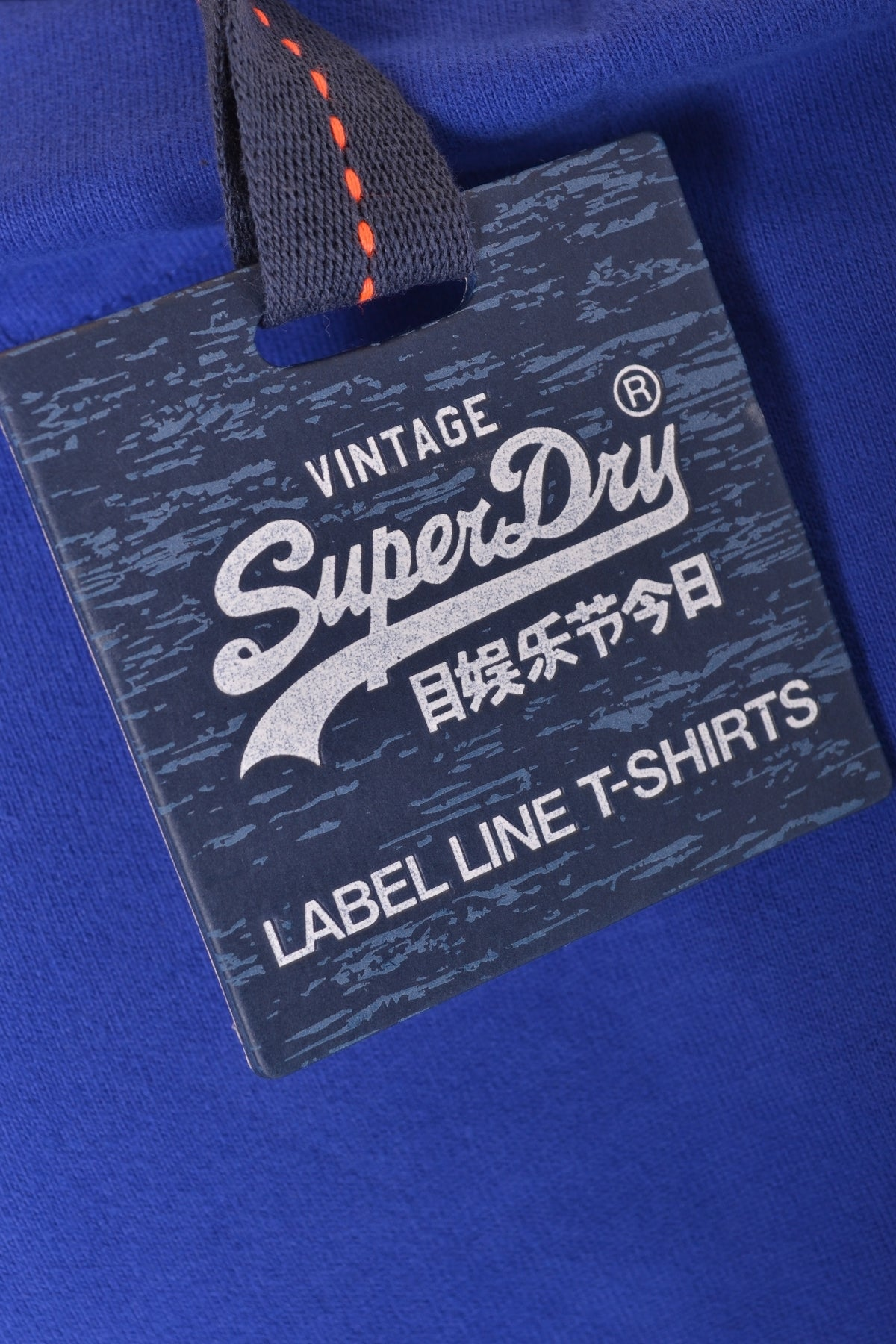 T-Shirt Superdry-Men's Fashion - Men's Clothing - Tops & Tees - T-Shirts-Product Details Year: 2017Composition: Cotton 100%Size: IntGender: ManMade In: TurcheySeason: Spring / SummerMain Color: BlueClothing Type: T-ShirtTerms: New With Label-Keyomi-Sook
