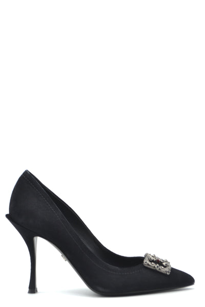 Shoes Dolce & Gabbana-36-Product Details Terms: New With LabelMain Color: BlackType Of Accessory: ShoesSeason: Fall / WinterMade In: ItalyGender: WomanHeel'S Height: 8Size: EuComposition: Chamois 100%Year: 2020Manufacturer Part Number: Cd1361 Av301 89074-Keyomi-Sook