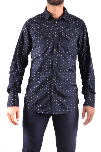 Shirt Dsquared-Shirts - MAN-50-Product Details Terms: New With LabelYear: 2017Main Color: Dark BlueGender: ManMade In: ItalySize: ItSeason: Spring / SummerClothing Type: CamiciaComposition: Cotton 100%-Keyomi-Sook