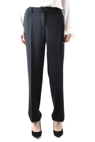 Trousers Boutique Moschino-Trousers - WOMAN-44-Product Details Terms: New With LabelYear: 2018Main Color: BlackGender: WomanMade In: ItalyManufacturer Part Number: Ra0311Size: ItSeason: Fall / WinterClothing Type: TrousersComposition: Acetate 70%, Polyester 30%-Keyomi-Sook