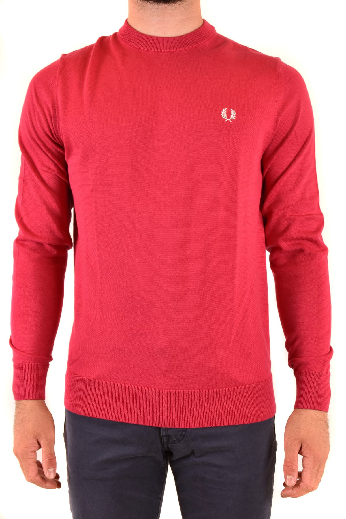 Sweater Fred Perry-Men's Fashion - Men's Clothing - Hoodies & Sweatshirts-S-Product Details Manufacturer Part Number: 7015557A8.V0036Year: 2020Composition: Cotton 100%Size: IntGender: ManMade In: ChinaSeason: Fall / WinterMain Color: RedClothing Type: Sweater Terms: New With Label-Keyomi-Sook