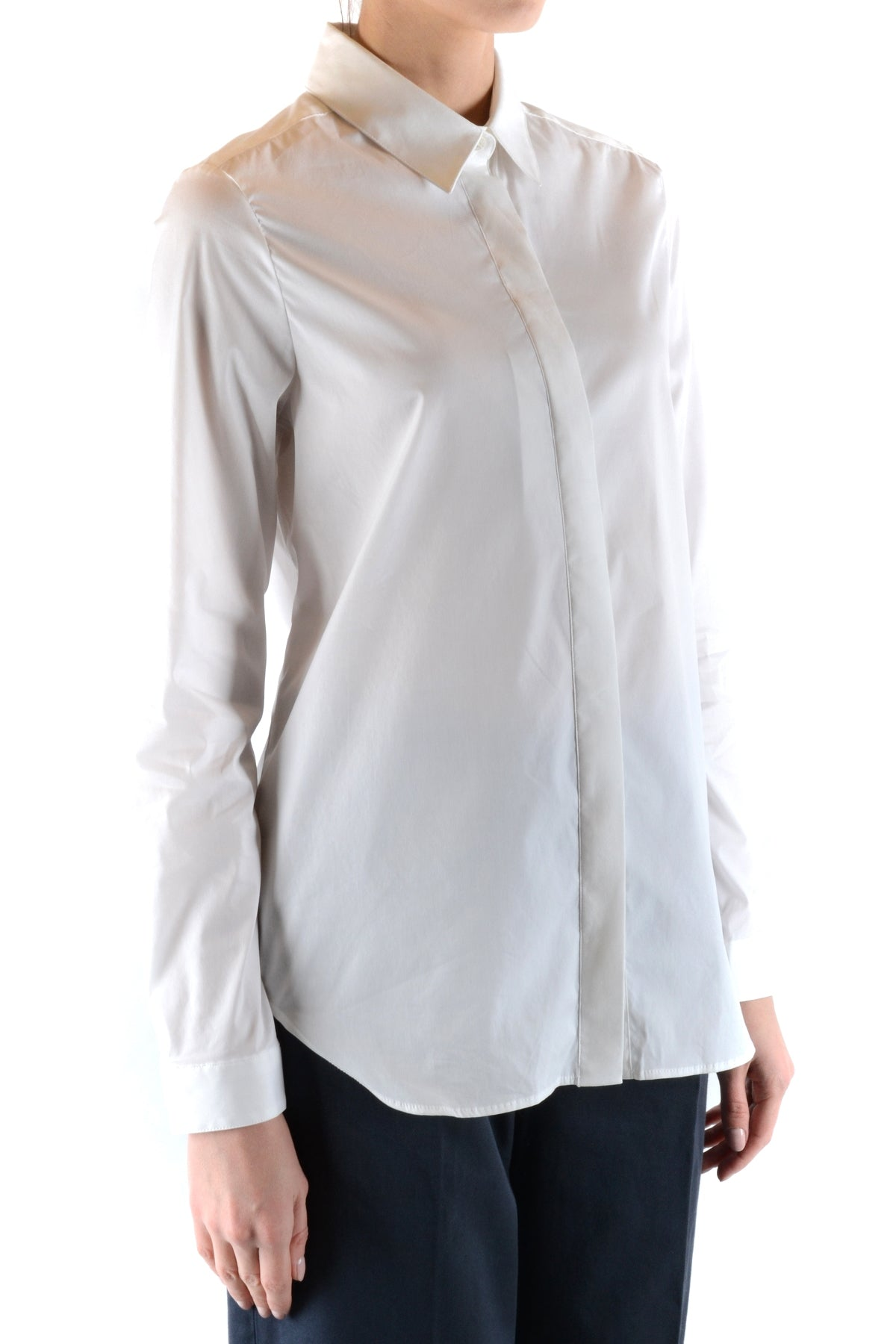 Shirt Burberry-Shirt - WOMAN-Product Details Season: Spring / SummerTerms: New With LabelMain Color: WhiteGender: WomanMade In: RomaniaManufacturer Part Number: 3899818 1006Size: ItYear: 2018Clothing Type: CamiciaComposition: Cotton 78%, Polyamide 18%-Keyomi-Sook