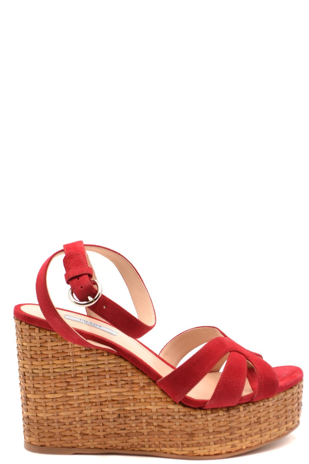 Shoes Prada-Women's Fashion - Women's Shoes - Women's Sandals-36-Product Details Terms: New With LabelMain Color: RedType Of Accessory: ShoesSeason: Spring / SummerMade In: ItalyGender: WomanSize: EuComposition: Chamois 100%Year: 2020Manufacturer Part Number: 1Xz705008 F0E06-Keyomi-Sook