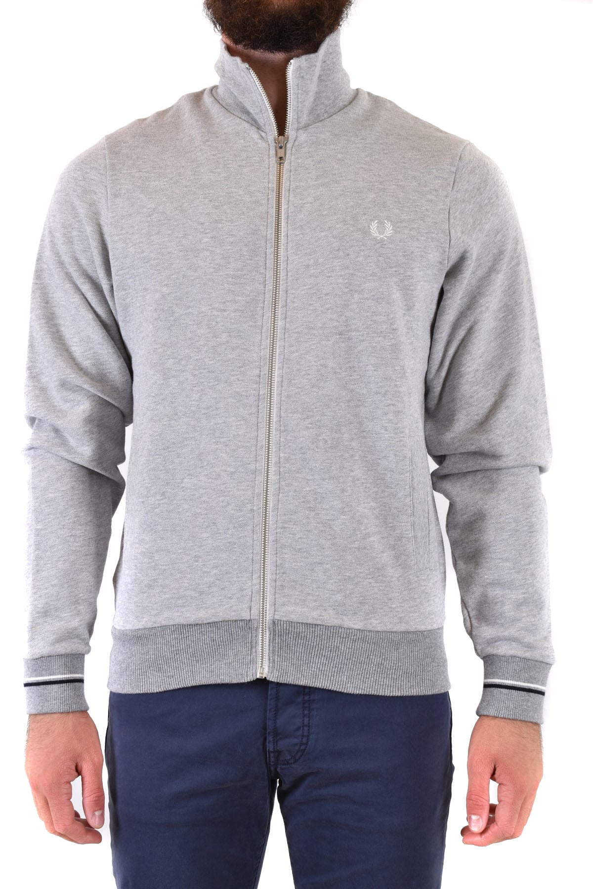Sweatshirt Fred Perry-Men's Fashion - Men's Clothing - Hoodies & Sweatshirts-XS-Product Details Terms: New With LabelClothing Type: SweatshirtsMain Color: GraySeason: Fall / WinterMade In: ChinaGender: ManSize: IntComposition: Cotton 100%Year: 2020Manufacturer Part Number: J3522 Col250-Keyomi-Sook