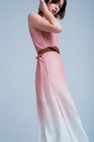 Pink Ombre Dress-Women - Apparel - Dresses - Day to Night-L-Keyomi-Sook