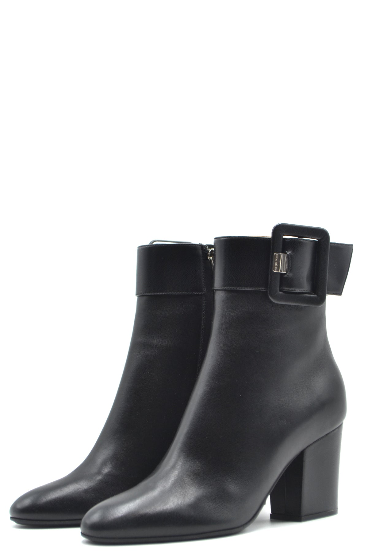 Shoes Sergio Rossi-Women's Fashion - Women's Shoes - Women's Boots-Product Details Terms: New With LabelMain Color: BlackType Of Accessory: BootsSeason: Fall / WinterMade In: ItalyGender: WomanHeel'S Height: 7,5Size: EuComposition: Leather 100%Year: 2020Manufacturer Part Number: A85851 Mnan07 1000-Keyomi-Sook